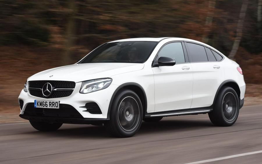 2016 Mercedes-Benz GLC220 d 4Matic AMG Line Coupe (UK)