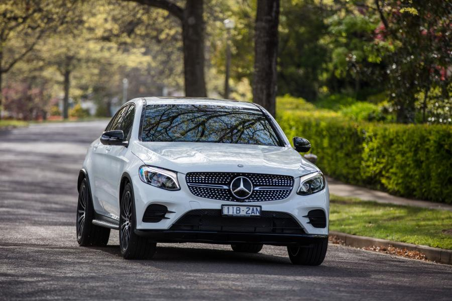 2016 Mercedes-Benz GLC250 4Matic AMG Line Coupe (AU)