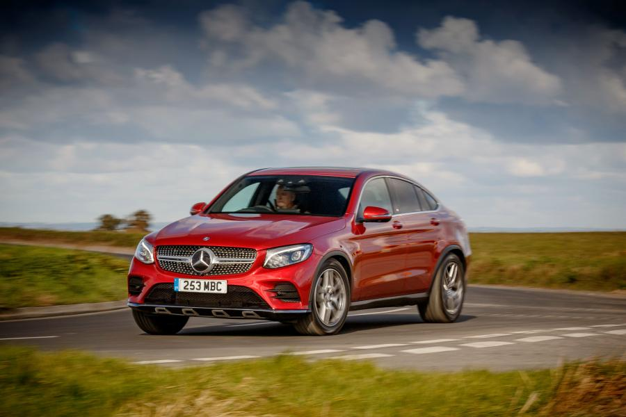 2016 Mercedes-Benz GLC250 d 4Matic AMG Line Coupe (UK)