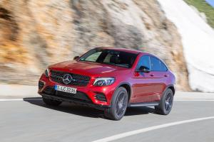 Mercedes-Benz GLC350 d 4Matic AMG Line Coupe 2016 года