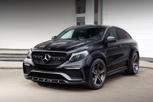 Mercedes-Benz GLE Coupe Inferno in Black by TopCar 2016 года