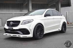 2016 Mercedes-Benz GLE Coupe by Hamann and DS Automobile