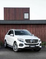 Mercedes-Benz GLE500 e 4Matic 2016 года (AU)