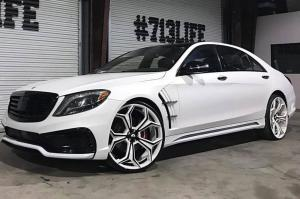 2016 Mercedes-Benz S-Class on Forgiato Wheels (F2.09)