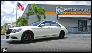 Mercedes-Benz S550 by MetroWrapz 2016 года