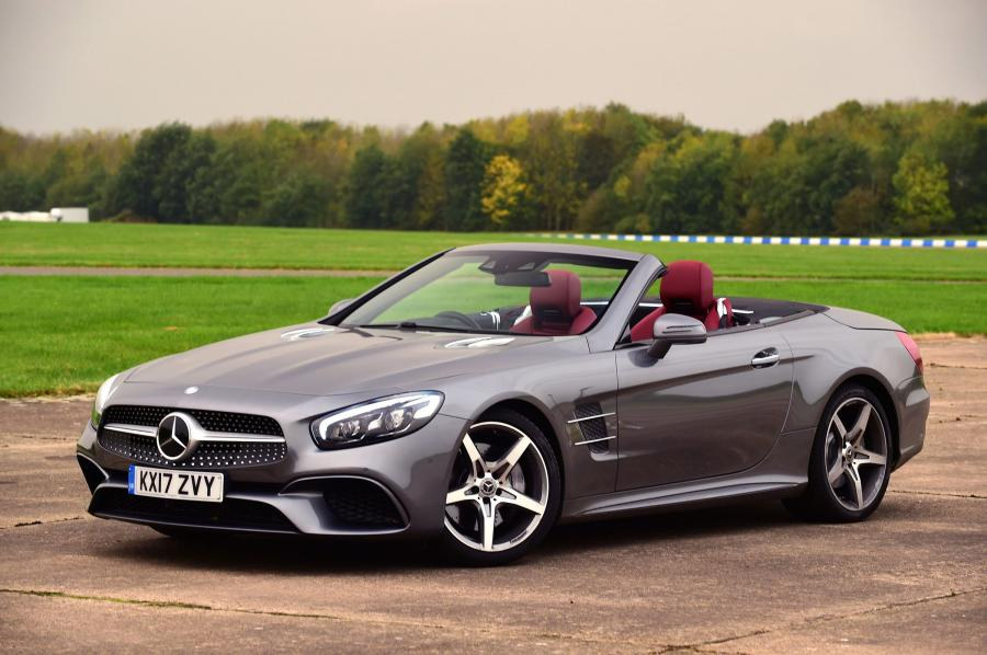 2016 Mercedes-Benz SL400 (UK)