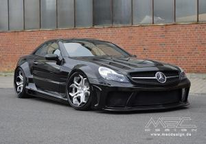Mercedes-Benz SL55 AMG by MEC Design (CC5 Wheels) 2016 года