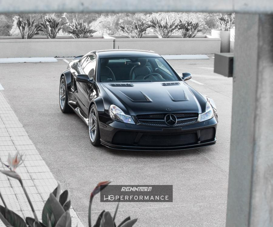Mercedes-Benz SL65 AMG Black Series by HG Performance and RENNtech
