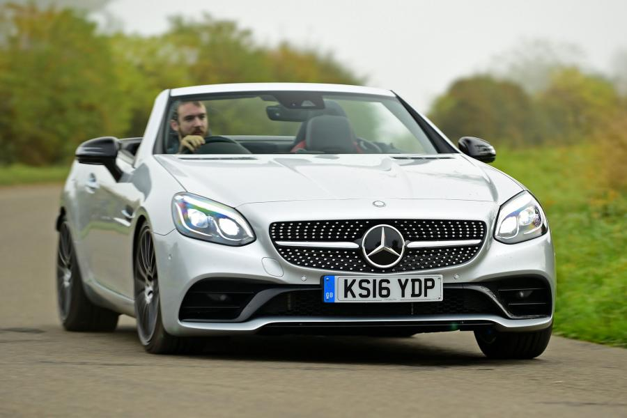 2016 Mercedes-Benz SLC250 d AMG Line (UK)