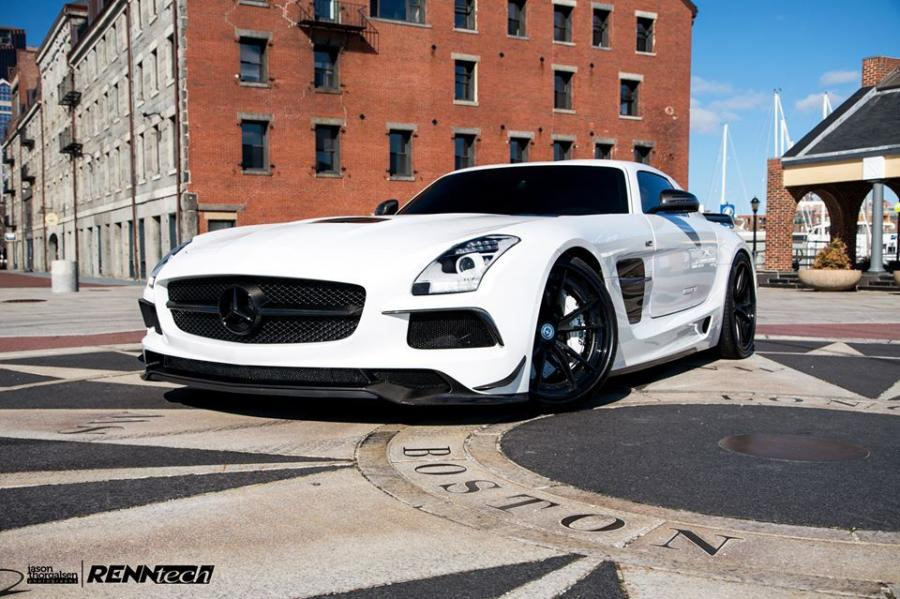 Mercedes-Benz SLS AMG Black Series in Boston by RENNtech
