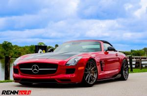 Mercedes-Benz SLS AMG Roadster Final Edition by RENNtech 2016 года