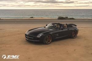 Mercedes-Benz SLS AMG Roadster by TAG Motorsports on ADV.1 Wheels 2016 года