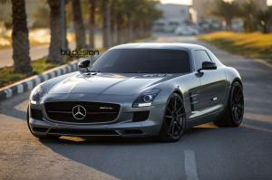 2016 Mercedes-Benz SLS AMG by ByDesign on ADV.1 Wheels
