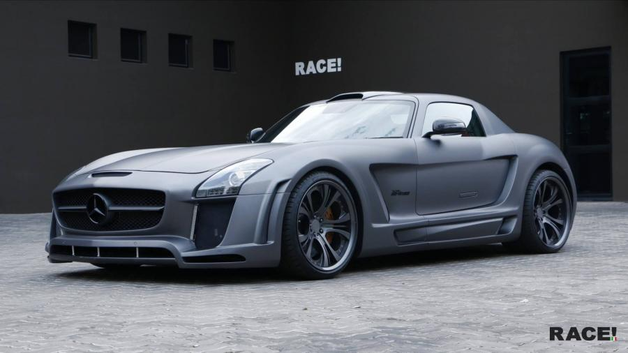 Mercedes-Benz SLS AMG by FAB Design and RACE!