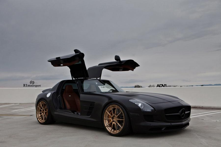 Mercedes-Benz SLS AMG by R1 Motorsport on ADV.1 Wheels (ADV10 M.V2 CS)