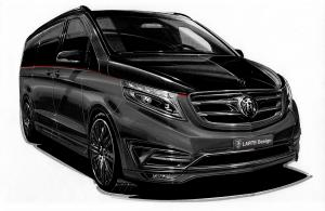 2016 Mercedes-Benz V-Class Black Crystal by Larte Design