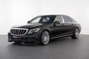 Mercedes-Maybach Rocket 900 in Black on White Leather by Brabus 2016 года