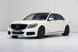Mercedes-Maybach Rocket 900 in White by Brabus 2016 года