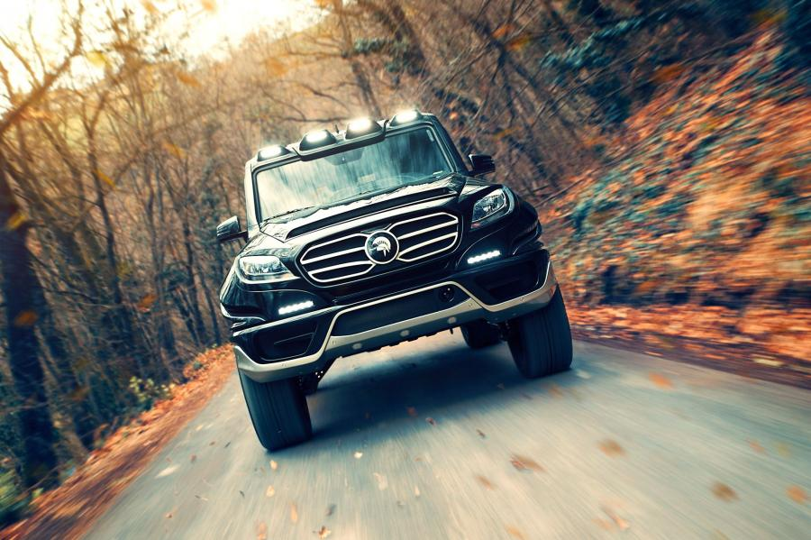 Mercdes-Benz X-Raid by Ares Design