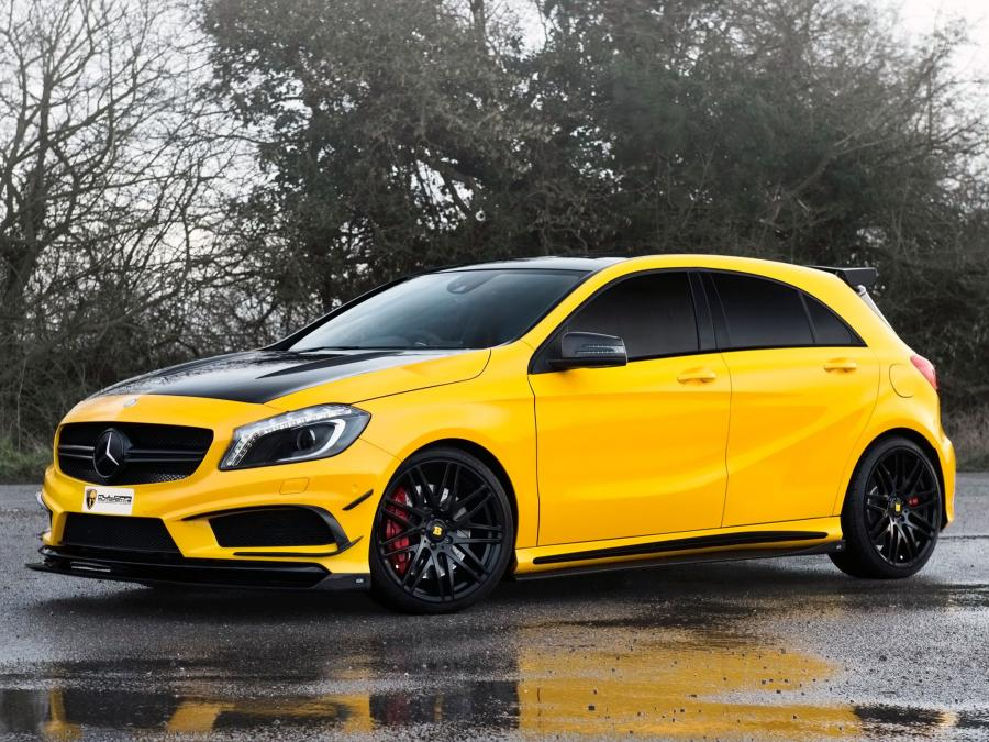 Mercedes-AMG A45 Black Series Project 45 by Mulgari and RevoZport