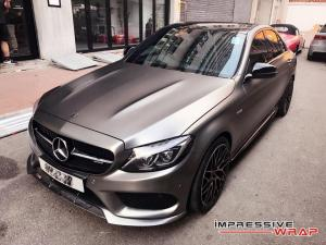 2017 Mercedes-AMG C43 by Impressive Wrap