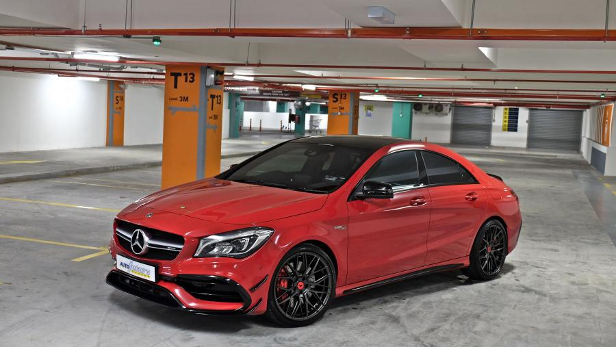 Mercedes-AMG CLA45 4Matic by Autofuture Design on Vorsteiner Wheels (V-FF 107)
