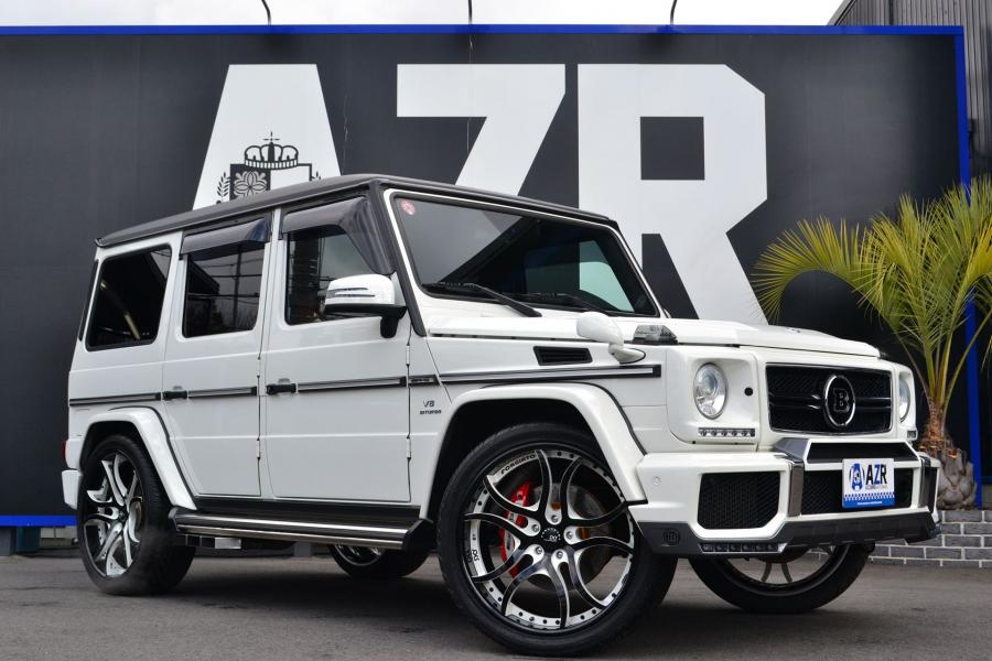 2017 Mercedes-AMG G63 by Azzurre Motoring on Forgiato Wheels (S216-ECL)