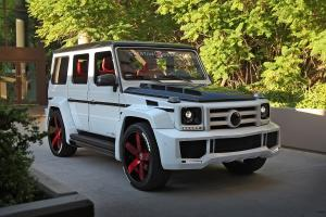 Mercedes-AMG G63 by Creative Bespoke on Forgiato Wheels (Fossette-ECL) 2017 года