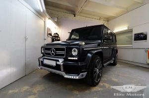 2017 Mercedes-AMG G63 by Elite Motors on Brabus Wheels