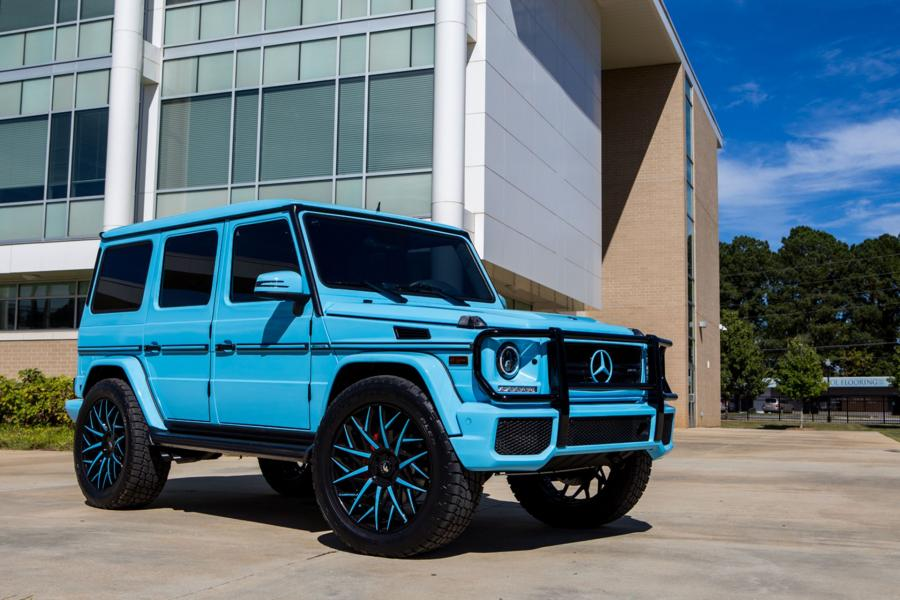 2017 Mercedes-AMG G63 on Forgiato Wheels (Blocco-ECL)