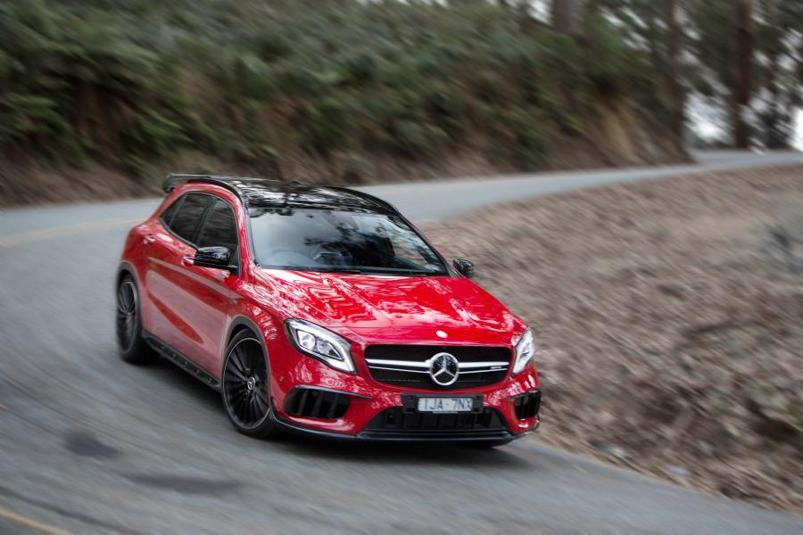 2017 Mercedes-AMG GLA45 4Matic (AU)