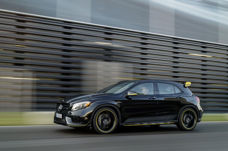 2017 Mercedes-AMG GLA45 4Matic Yellow Night Edition (NA)