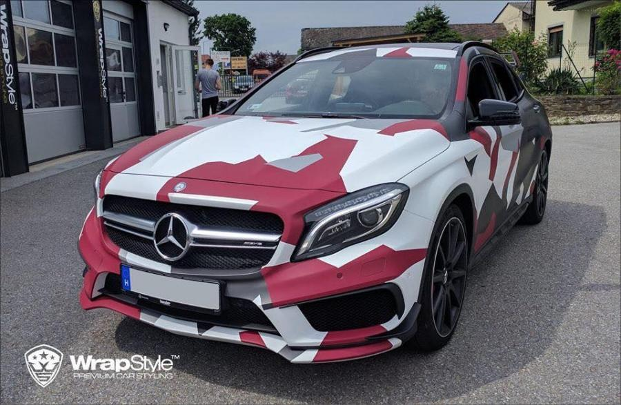 2017 Mercedes-AMG GLA45 4Matic by WrapStyle