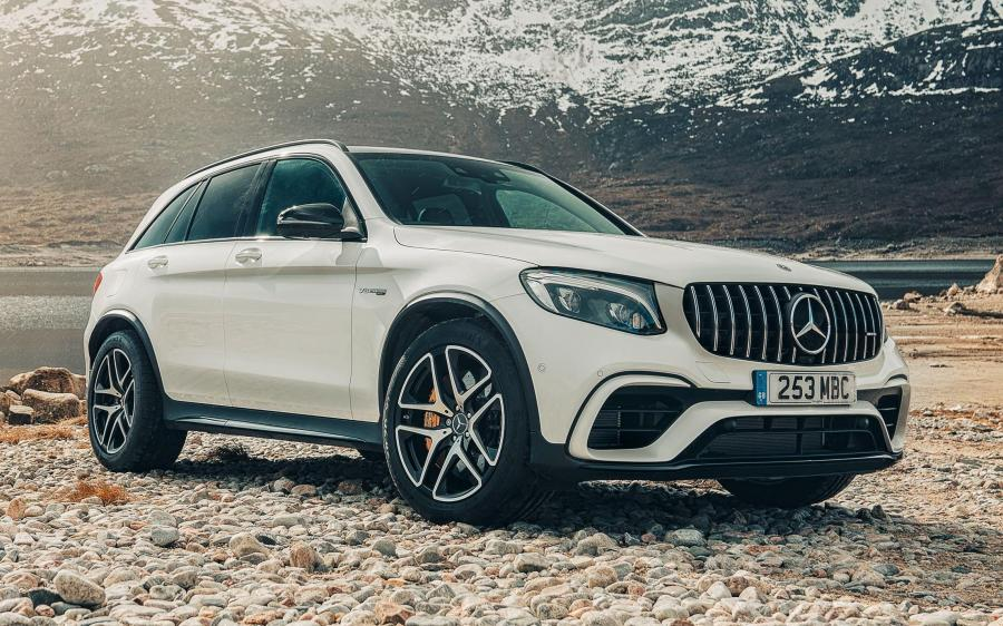 Mercedes-AMG GLC63 S 4Matic+ (X253) (UK) '2017