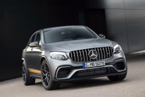 Mercedes-AMG GLC63 S 4Matic+ Coupe Edition #1 2017 года