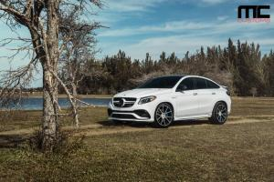 2017 Mercedes-AMG GLE63 S Coupe by MC Customs on AG Wheels