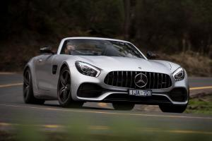 Mercedes-AMG GT C Roadster 2017 года