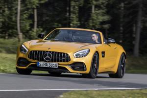 Mercedes-AMG GT C Roadster 2017 года (WW)