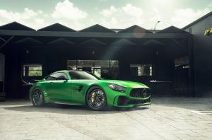 Mercedes-AMG GT R Green Hell Magno on ADV.1 Wheels (ADV05 TRACK SPEC) 2017 года