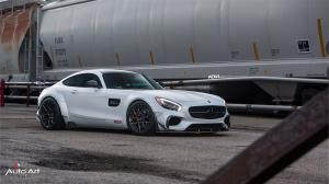 Mercedes-AMG GT S by The Auto Art on ADV.1 Wheels (ADV10.0 M.V2 CS) 2017 года