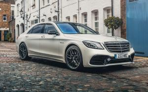 Mercedes-AMG S63 4Matic+ Lang 2017 года (UK)