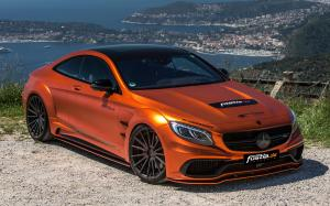Mercedes-AMG S63 Coupe Combat Monster by Fostla.de & PP-Performance 2017 года