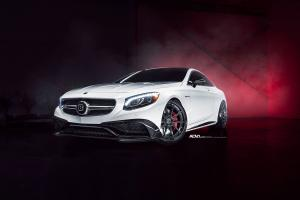 Mercedes-AMG S63 Coupe by Brabus and Driving Emotions Motorcar on ADV.1 Wheels 2017 года