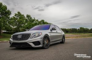 Mercedes-AMG S63 by Designo Motoring on ADV.1 Wheels (ADV15 M.V2 CS) 2017 года