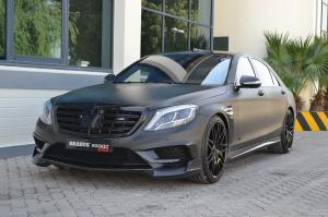 2017 Mercedes-AMG S65 Rocket 900 Matte Black by Brabus