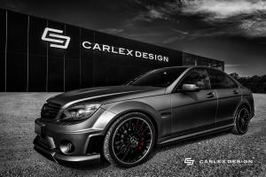 Mercedes-Benz C63 AMG by Carlex Design 2017 года