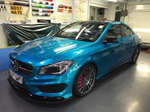 Mercedes-Benz CLA250 by Impressive Wrap 2017 года