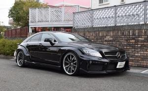 2017 Mercedes-Benz CLS550 Vitt Sualo of Black by VITT