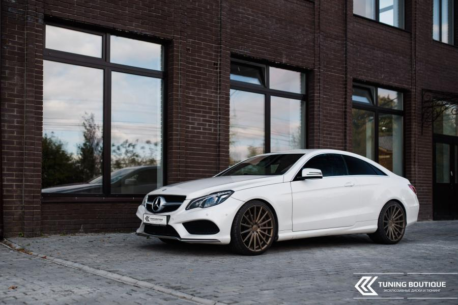 Mercedes-Benz E-Class Coupe by Tuning Boutique on Vossen Wheels (VFS2)