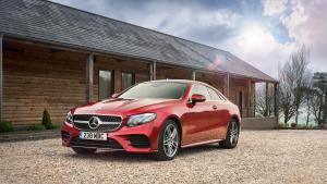 Mercedes-Benz E400 4Matic AMG Line Coupe 2017 года
